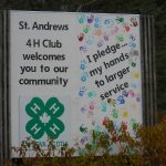 4-H sign
