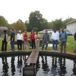 Coady participants visit Fraser's Mills Fish Hatchery