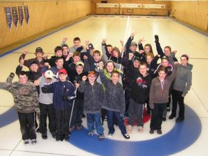 Curling youth