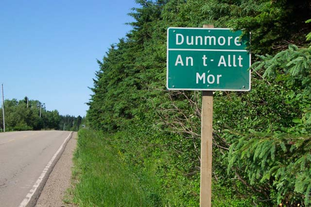 Dunmore Sign