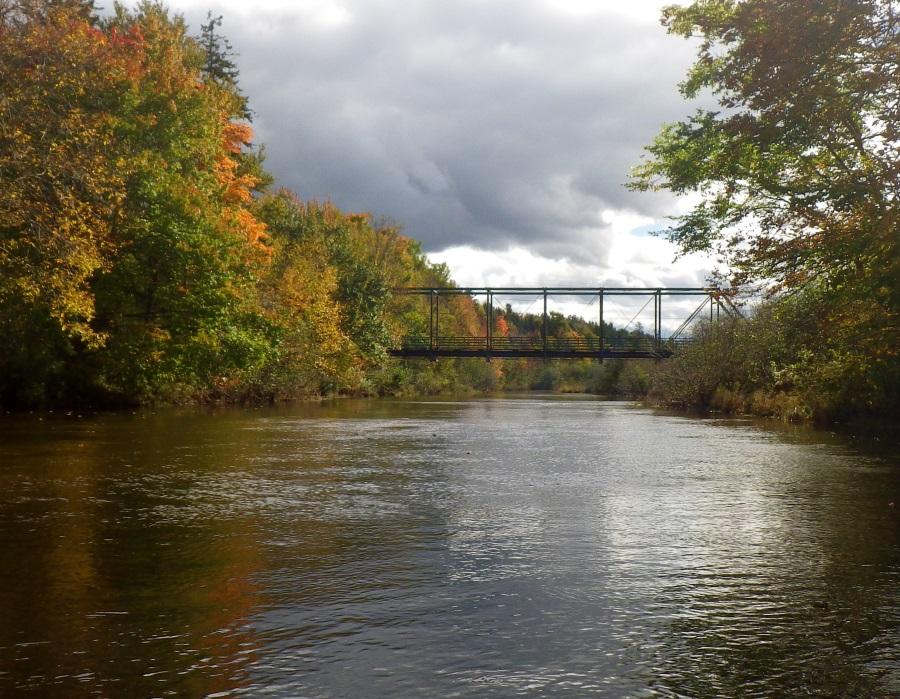 Fall Bridge over South River
