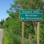 Frasers Mills Sign