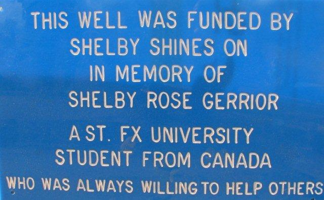 Wishing Wells: Kalipande sign Shelby Shines On