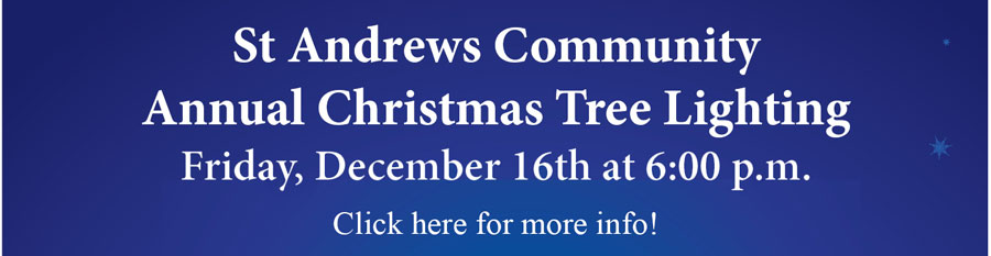 St. Andrews Community: Tree Lighting
