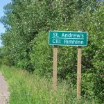 St. Andrews Sign