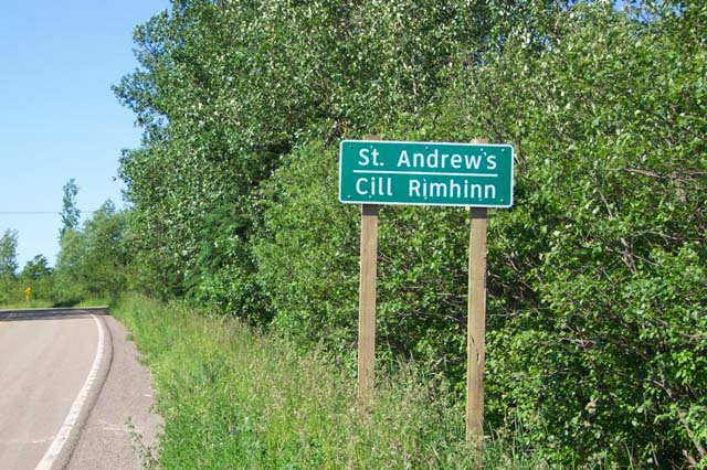 St. Andrews Sign