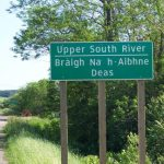 Upper South River Sign