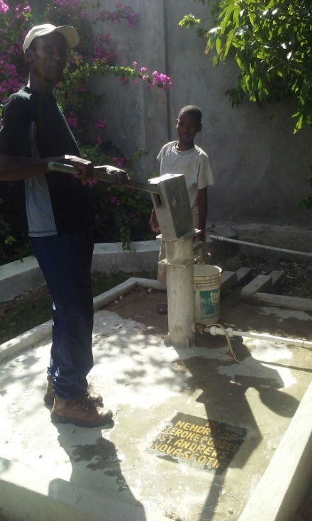 Wishing Wells: Well at Dessources Haiti ILM of Jerome Forbes