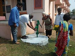 Pumping water at Koduru