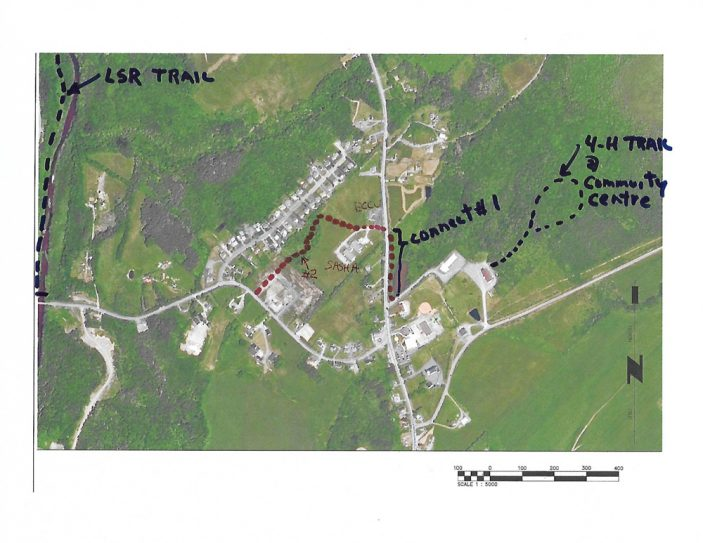 St. Andrews Community Trail Association - Sattelite proposed trails (rotation) JPG